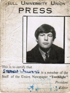 Stephen Williams' press pass for Torchlight