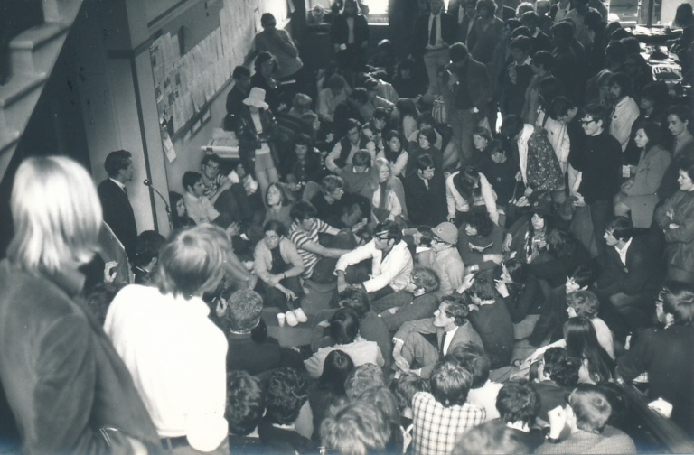 Hull University sit-in 1968 (2)