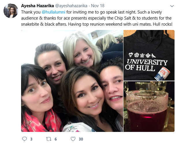 Ayesha Tweet