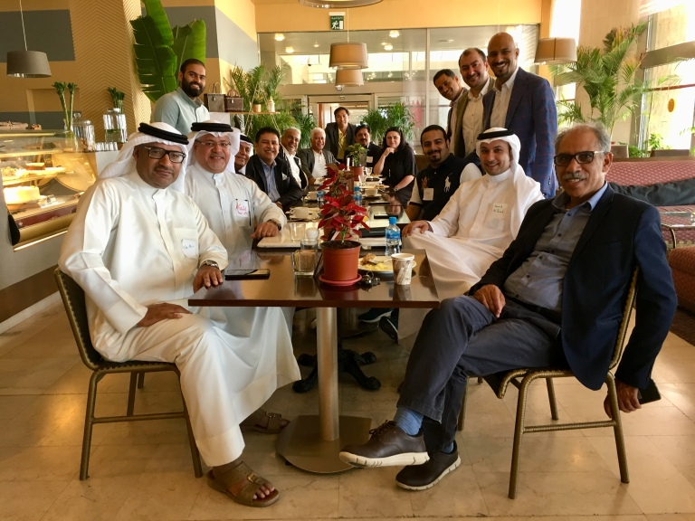 1st meeting of the gulf states hull alumni group 1